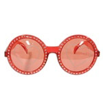 Red Jeweled Heart Fanci-Frames
