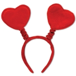 Soft-Touch Heart Party Boppers