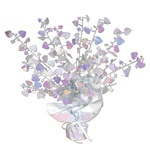 Opalescent Heart Gleam 'N Burst Centerpiece