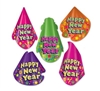 Color-Brite New Year Hat Assortment (sold 50 per box)