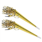 Tasseled Trumpets (gold)