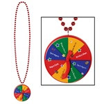 New Year Bead with Spinner Medallion