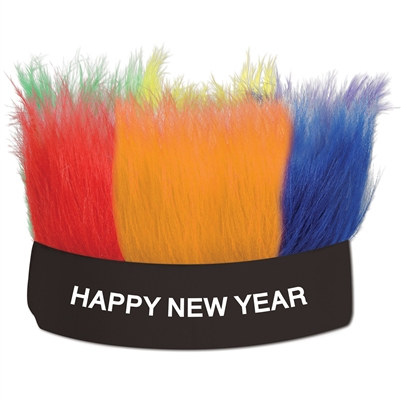 Happy New Year Hairy Headband