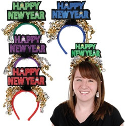 Assorted Happy New Year Headbands