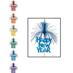 Multi-Color Happy New Year Firework Stringer