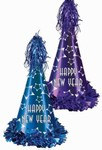 Gem-Star New Year Party Hats (sold 25 per box)