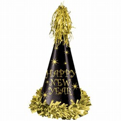 Gold Reflections New Year Party Hat (sold 25 per box)