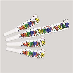 Happy New Year Blowouts (4/pkg)
