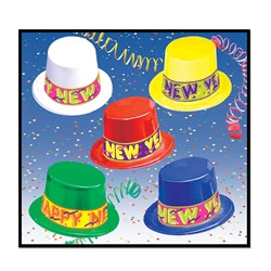 Colorama New Year Topper Hats (1/pkg)