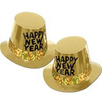 Gold Rush Happy New Year Hi-Hat
