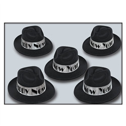 New Year Silver Swing Fedora
