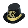 Black and Gold New Year Hi-Hat