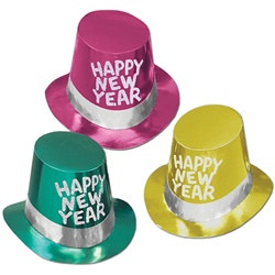 Miami Nites New Year Hi-Hats (sold 25 per box)
