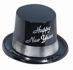 Silver Legacy New Year Plastic Topper Hat