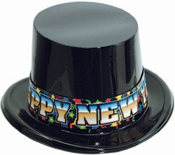 High Society New Year Topper Hat
