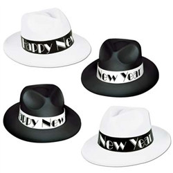 Chicago Swing New Year Fedoras (1/pkg)