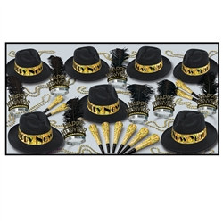 Swingin Black and Gold New Year Assortment