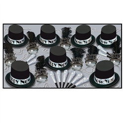 Silver Top Hat New Year Assortment