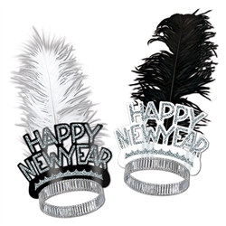 Chicago Swing New Year Tiaras