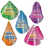Looking for a fun, cheap and memorable way to top off your New Year's celebration?  This 50-Per-Package assortment of party hats is just what you need.  Sold 50 per package.  One size fits most.