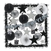 Shimmering Silver New Year Decorating Kit