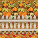 Pumpkin Patch Backdrop