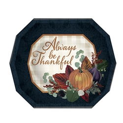 Add a beautiful pop of fall color and classic charm to your Thanksgiving table with these Fall Thanksgiving Dinner Plates