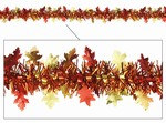 Metallic Autumn Leaf Garland