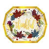 Show your friends how much you care with these classic Friendsgiving Dinner Plates. They'll look great on your table and prove the special touch you're looking for.  Sold 8 plates per pack, Plates measure 11 x 9 inches. Plates are not microwave safe.