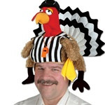 Plush Referee Turkey Hat