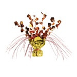 Acorn Gleam N Spray Centerpiece