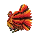 Add your own flock of turkeys to your Thanksgiving table with this 4 pack of Tissue Turkey Centerpieces!  Completely assembled, they open full round and stand 9 inches tall.  Printed on highest quality cardstock in vibrant seasonal colors.