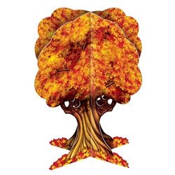 3-D Fall Tree Centerpiece