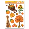 Fall Clings (12/sheet)