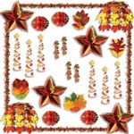 Fall Reflections Decorating Kit