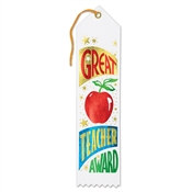 Great Teacher Award Ribbon