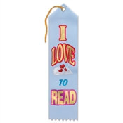 I Love To Read Ribbon