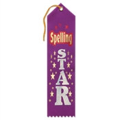 Spelling Star Ribbon
