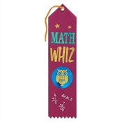 Math Whiz Ribbon