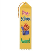 Pre-School Award Ribbon