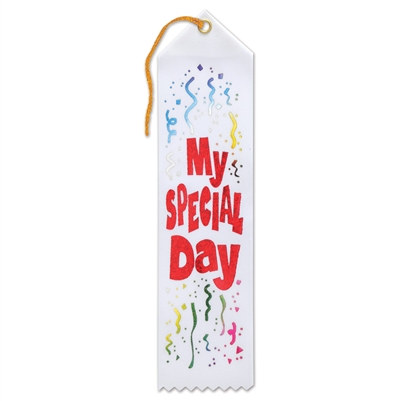 My Special Day Ribbon
