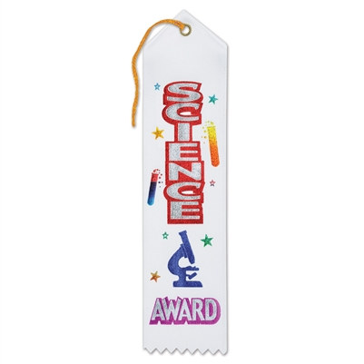 Science Award Ribbon