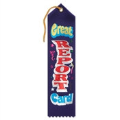 Great Report Card Ribbon