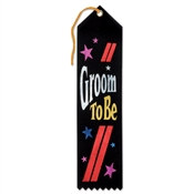 Groom To Be Ribbon