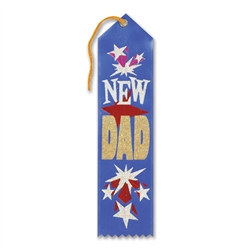 New Dad Ribbon