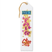Science Fair Star Ribbon