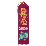 Social Studies Award Ribbon