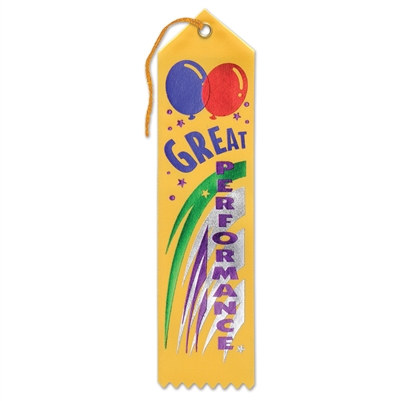 Great Performance Ribbon