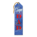 Blue Super Dad Ribbon