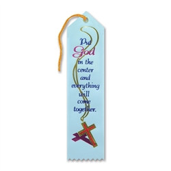 Put God In The Center Ribbon